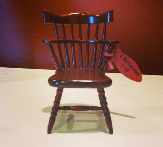 Thanksgiving Chair