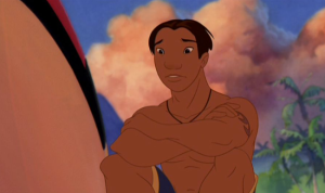 David Kawena (Nani's boyfriend in LILO & STITCH). Disney Digression II.